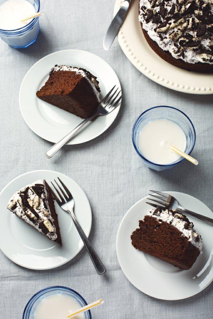 Schokoladen-kuchen-backen-weiße-vreme