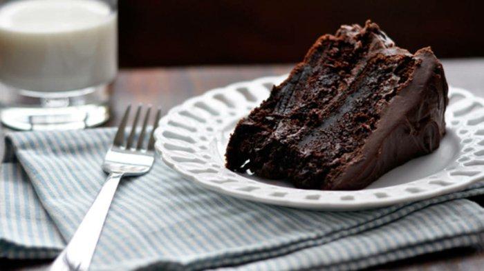 Schokoladen kuchen-im-teller