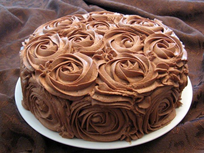 Schokoladen kuchen-schön-verzieren