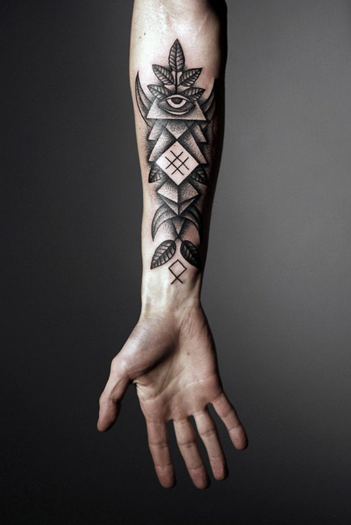 Tattoo-Motive-Männer-cooles-Handgelenk-Tattoo