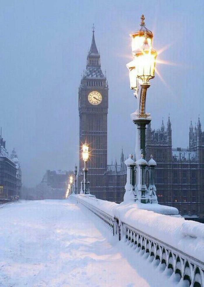 WInterbild-vom-wunderschönen-London-schöner-Ausblick