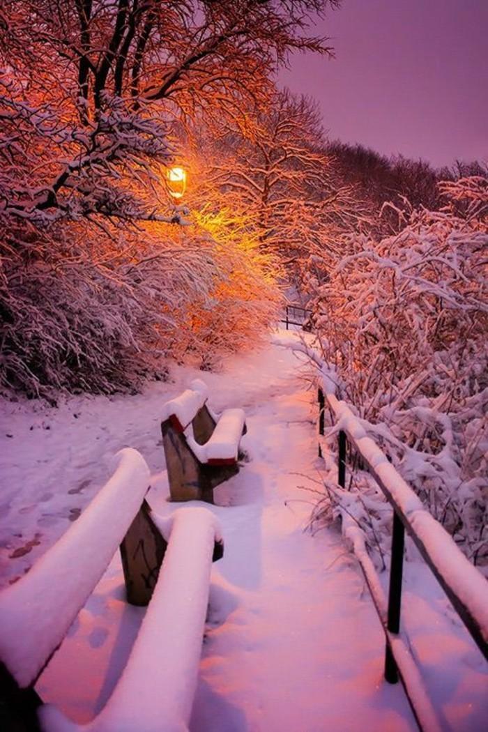 Winterimpression-Winterlandschaft-Bilder-romantische-Atmosphäre