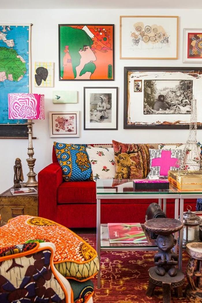Die 25+ Besten Ideen Zu Rote Sofas Auf Pinterest | Rote ... Wohnzimmer Ideen Rote Couch
