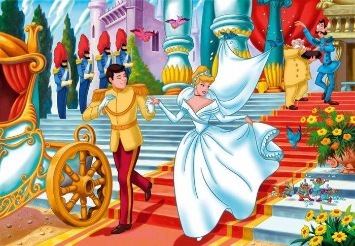 animiertes-Foto-von-der-Hochzeit-von-Aschenputtel-und-dem-Prinz