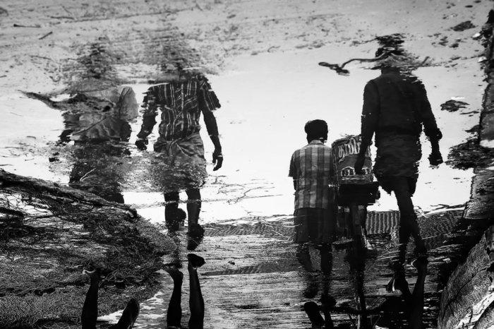 artistische-schwarz-weiße-Fotokunst-abstrakte-Kunst