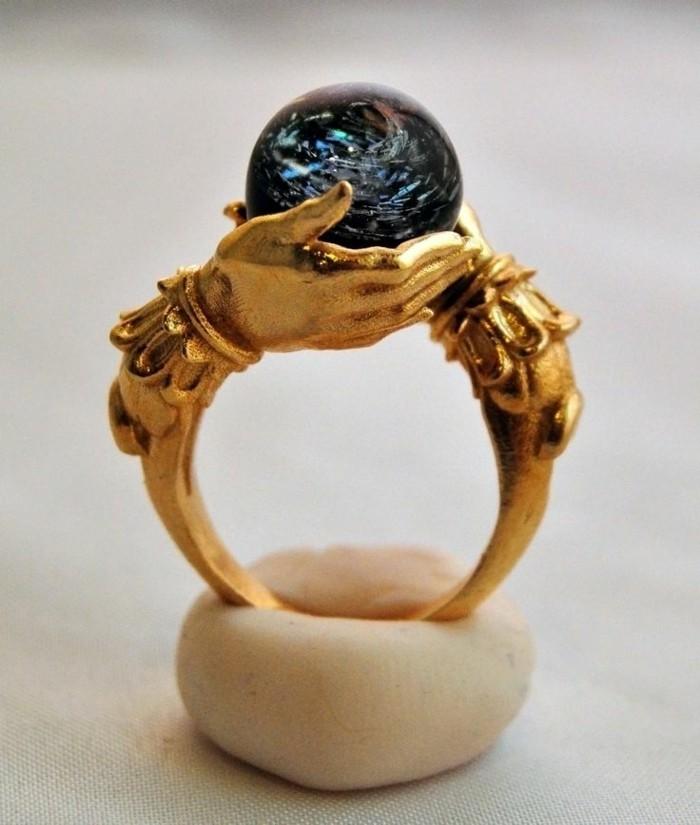ausgefallene-Ringe-fantastisches-vintage-Modell-Orakel-Ring