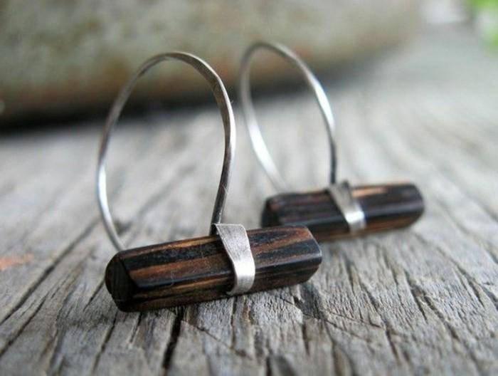 ausgefallener-Schmuck-coole-Ohrringe-aus-SIlber-und-Holz