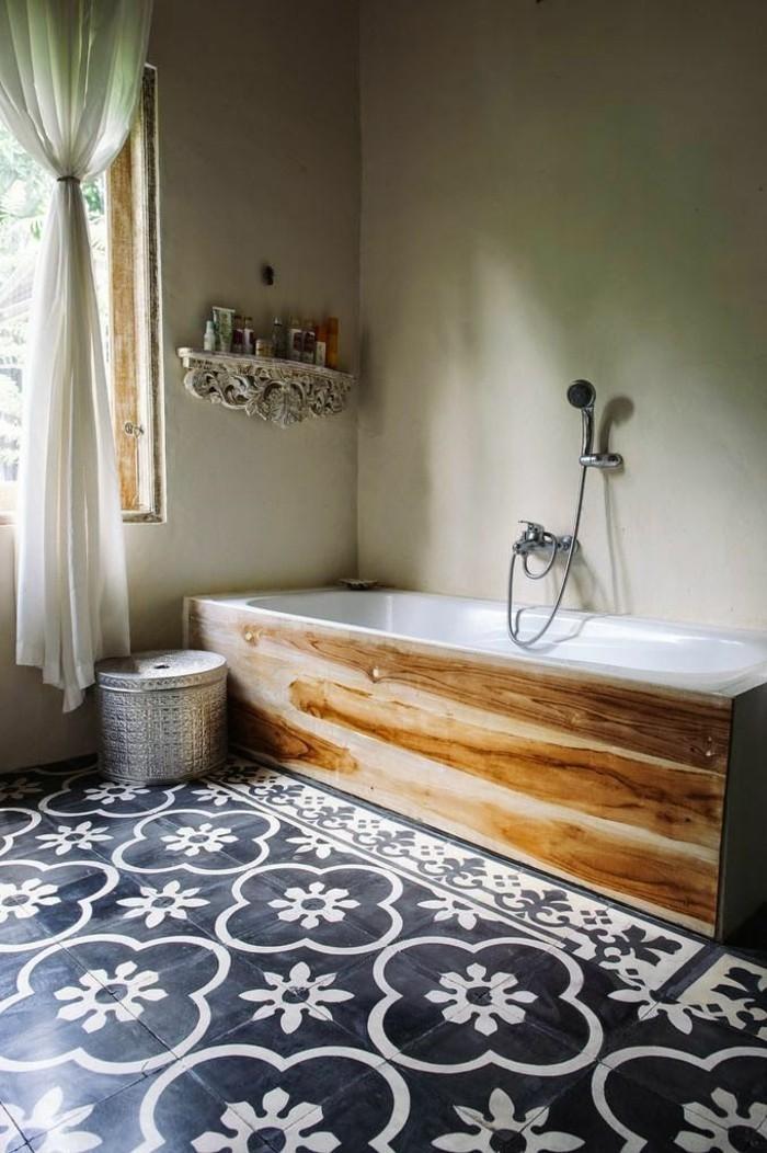 bäder-ideen-originelle-badfliesen-und-schöne-badewanne