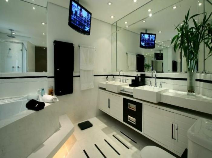 badezimmer einrichten beispiele dekoration inspiration. Black Bedroom Furniture Sets. Home Design Ideas