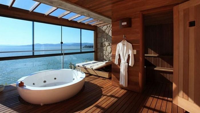 badezimmer-bilder-unikales-design-gläserne-wände