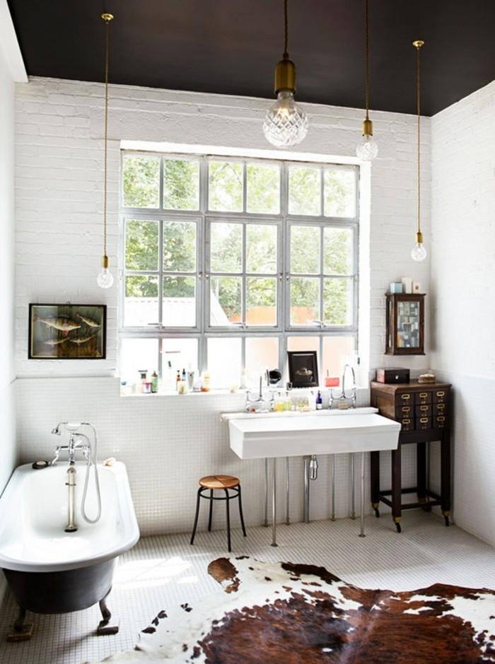 tolle dekoration im weißen badezimmer  super modell gestalten