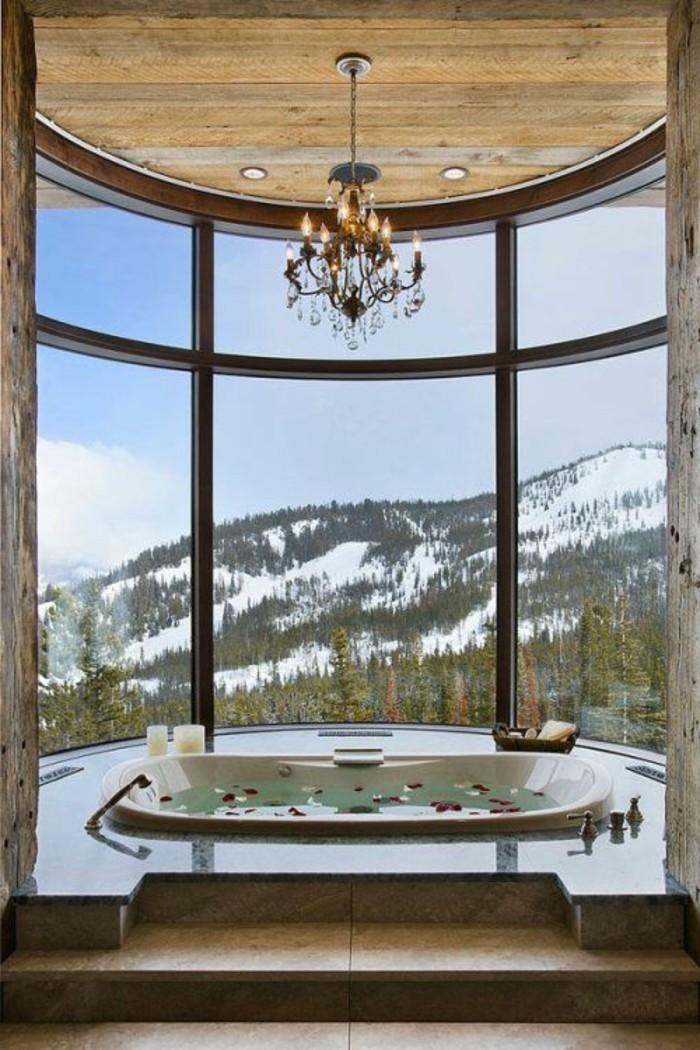 badezimmer-gestalten-ideen-sehr-schöne-fenster-elegante-badewanne
