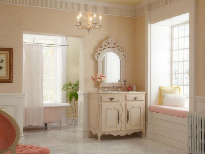 Badezimmer Ideen Spiegel : badezimmerideengroßefenstereleganterspiegel