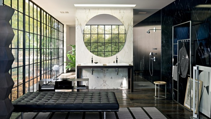 Weies Badezimmer Modern Gestalten : Diese Bilder Von Badgestaltung Sind  Echt Cool