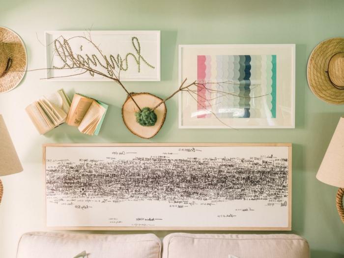 bilder-selber-malen-auffällige-wanddekoration-im-wohnzimmer