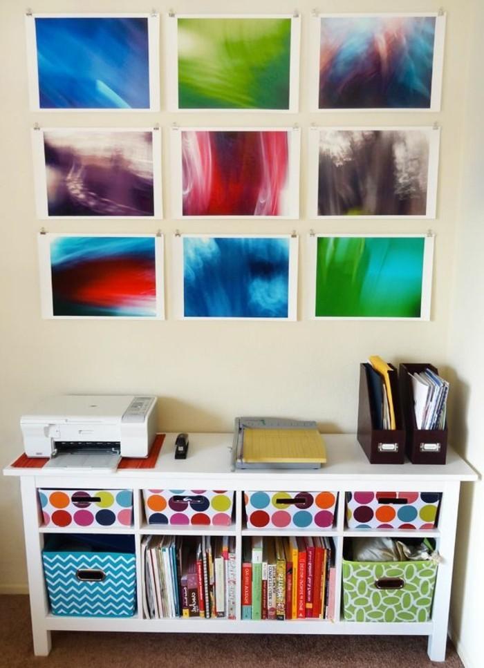 Wandgestaltung selber machen 140 unikale ideen - Bilder an die wand malen ...