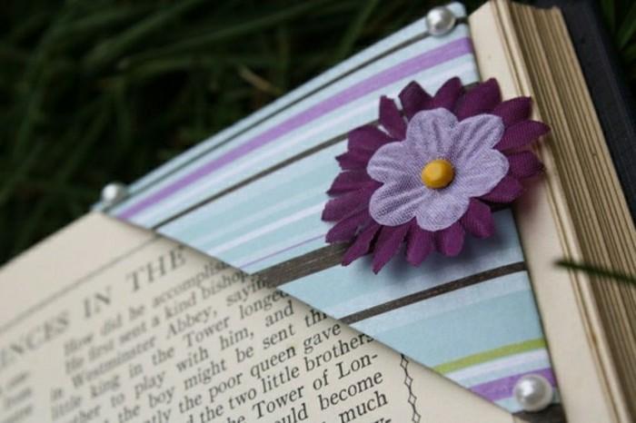 blume-häkeln-origami-lesezeichen-selber-machen