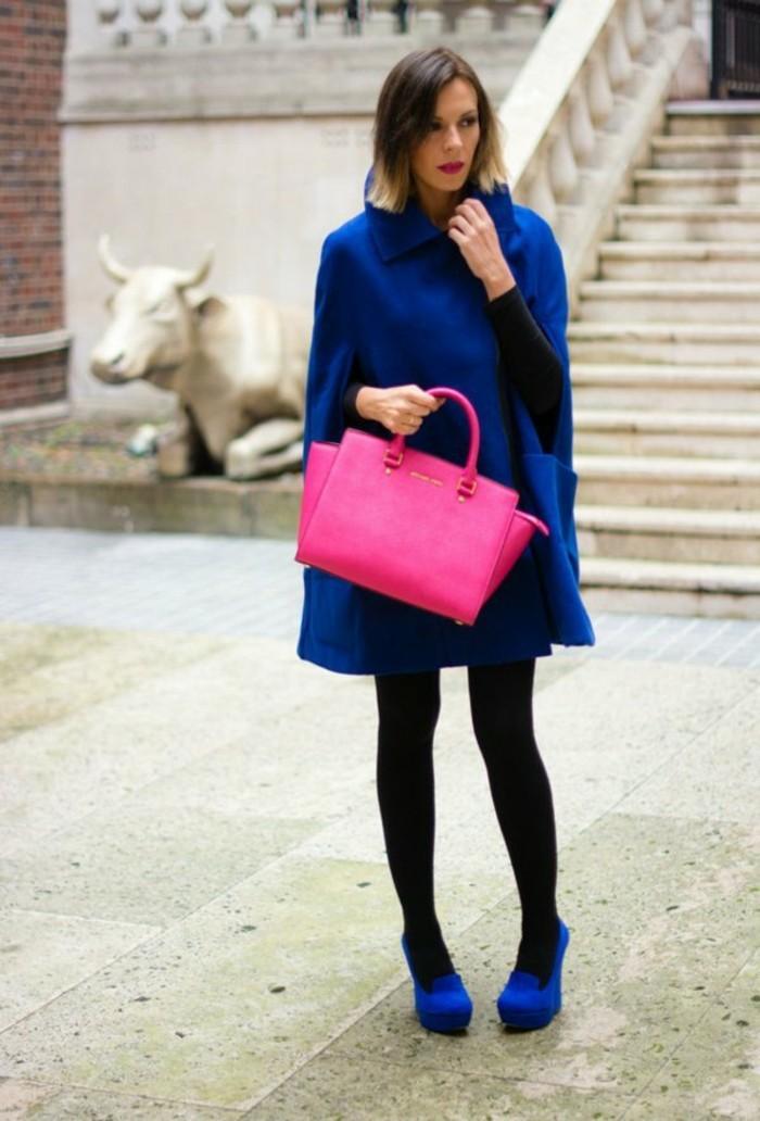 cape-damen-blau-mantel-rosa-tasche-resized