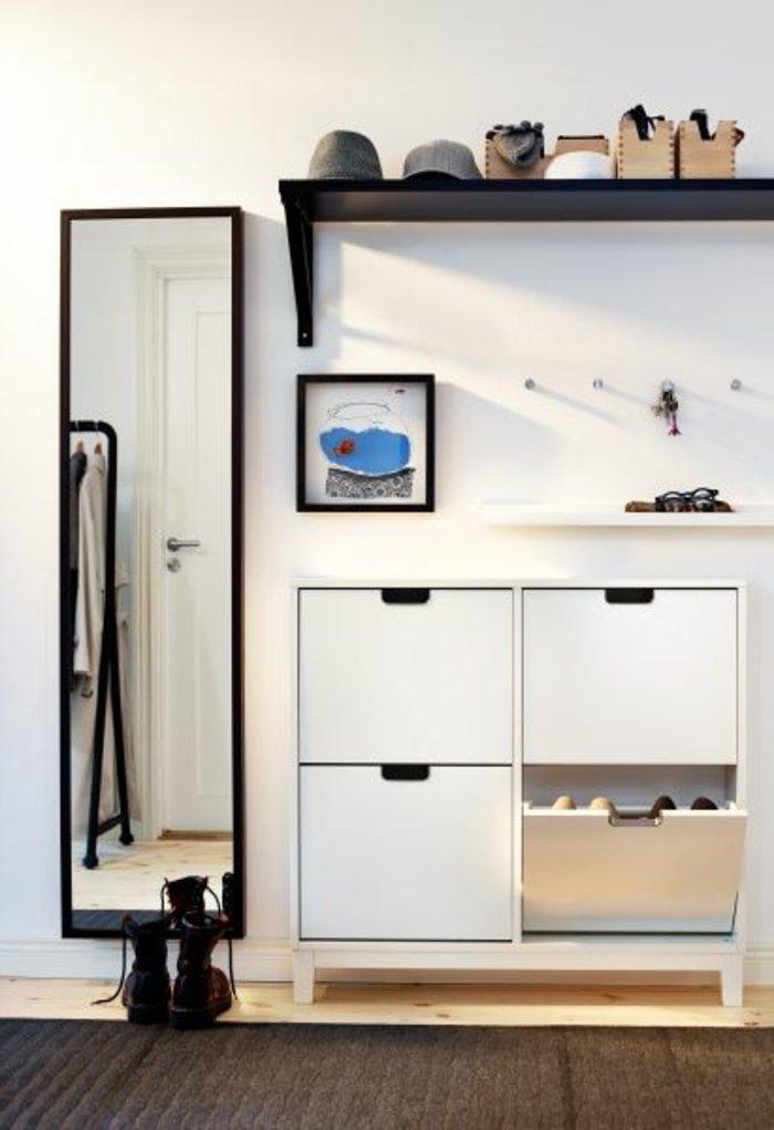 coole-Schuhschränke-kleines-Modell-in-Weiß