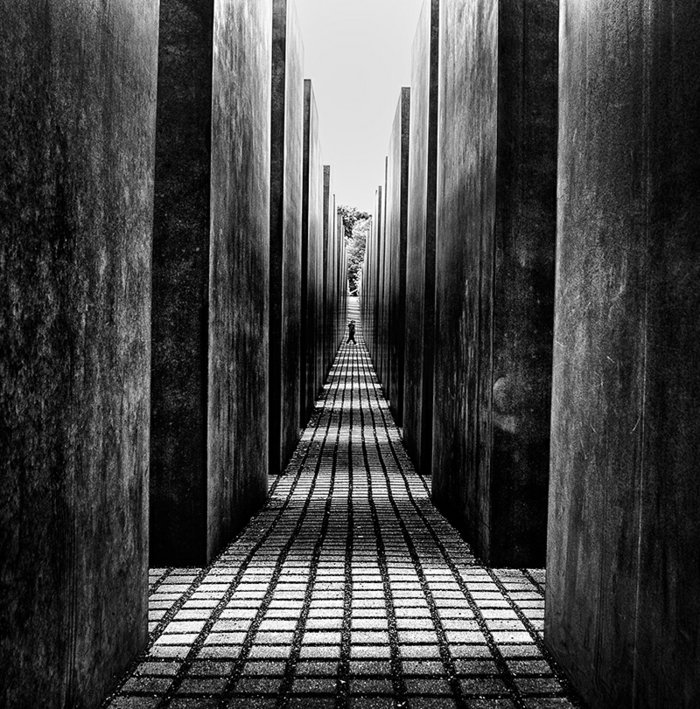 coole-schwarz-weiße-Kunstfotografie-artistisches-Foto