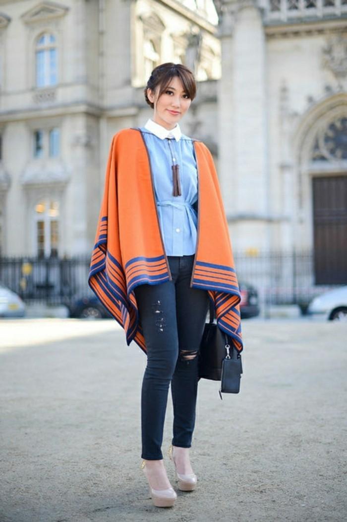 damen-poncho-orange-blau-jeans-resized