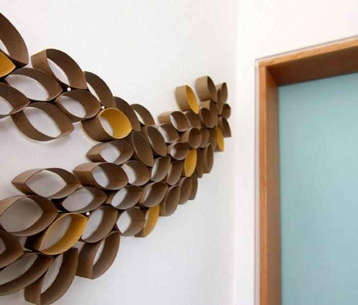 Wandgestaltung selber machen: 140 unikale Ideen! - Archzine.net