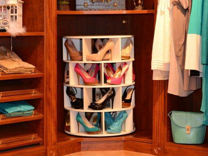 drehbarer-Schuhschrank-für-Damen-Schuhe