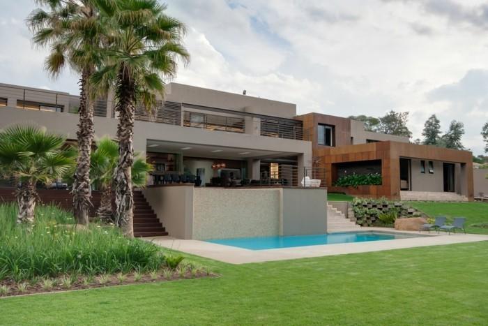 Moderne architektur unikales einfamilienhaus kaufen große palmen