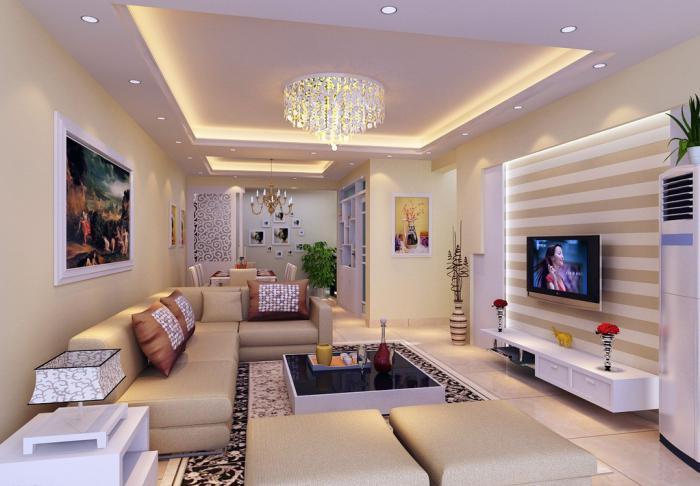 elegantes-Wohnzimmer-Interieur-extravaganter-Wohnzimmertisch