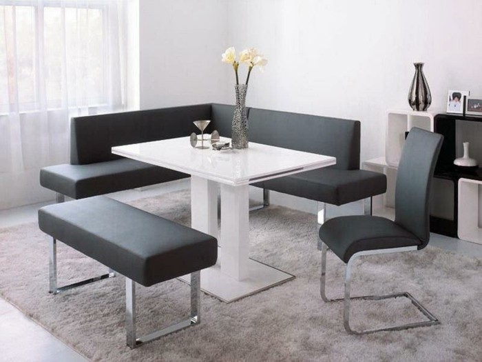 runde wei e k chentische die neueste innovation der. Black Bedroom Furniture Sets. Home Design Ideas