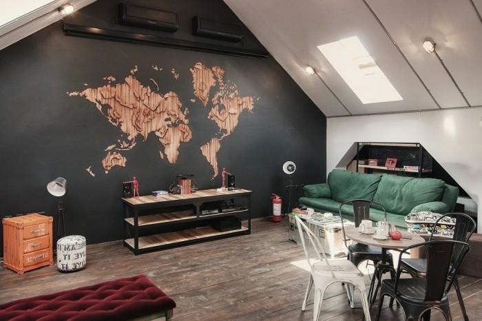 europaletten-möbel-in-einer-kreativen-dachwohnung