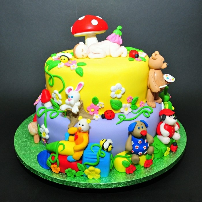 Plans For Children S Birthday Cake Duck
