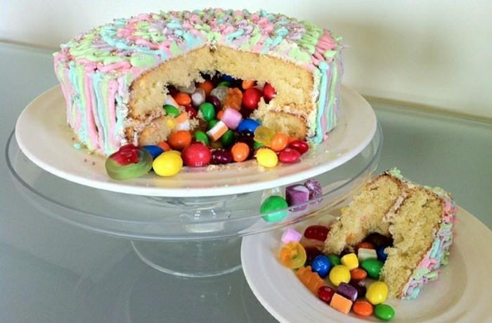 geburtstagskuchen-rezepte-wunderschöne-gestaltung-von-torte-leckere-überraschung