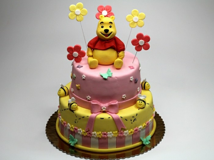 geburtstagskuchen-rezepte-wunderschöne-torte-winnie-the-pooh