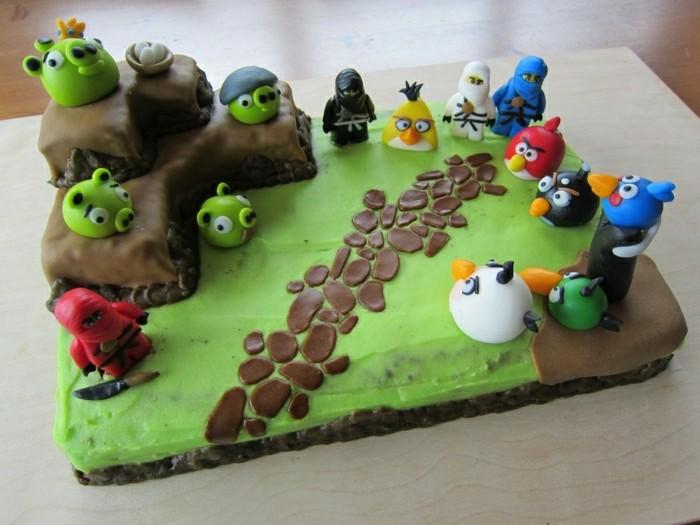 geburtstagskuchen-rezepte-wunderschönes-modell-torte