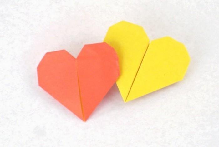 gelb-und-orange-kombinieren-herze-basteln
