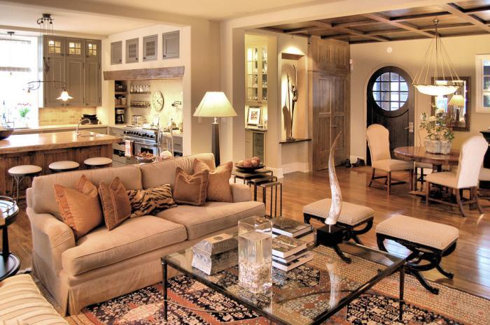 gemütliches-Wohnzimmer-schlichtes-Modell-Couchtisch-Glas