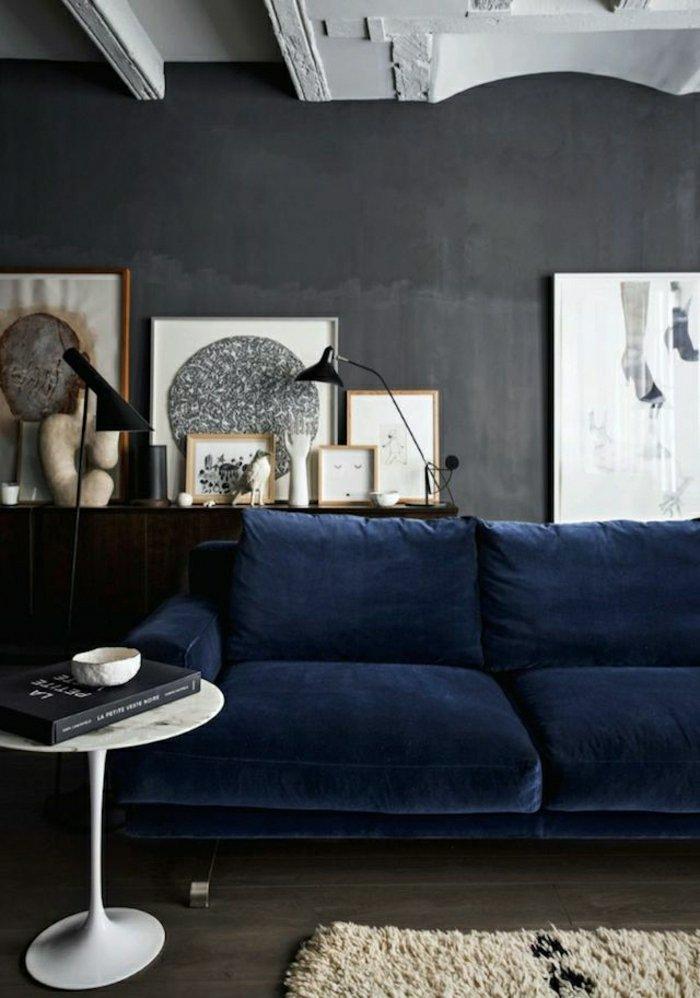 Die graue Wandfarbe - 43 Interieur Ideen damit - Archzine.net