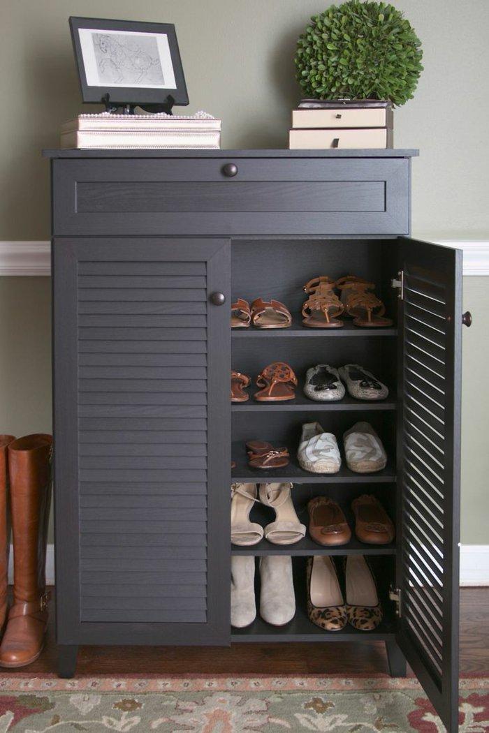 fein coole schuhschr nke ideen die kinderzimmer design. Black Bedroom Furniture Sets. Home Design Ideas