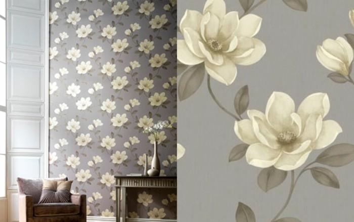 herrliche-tapeten-so-schän-aussehen-magnolia-farbe