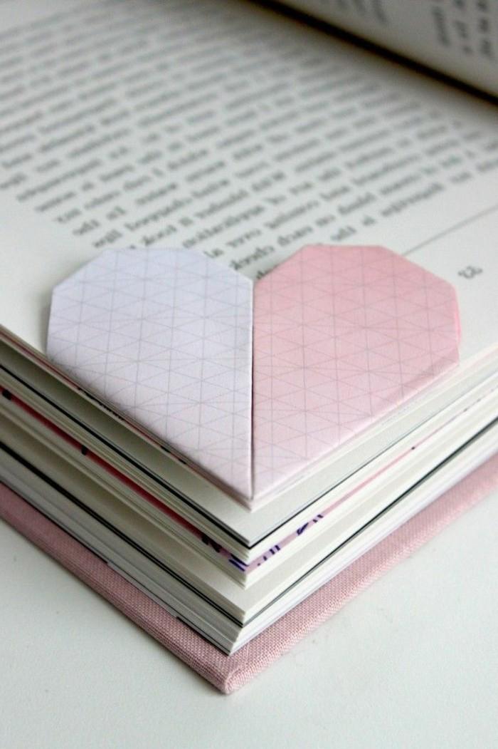 herze-basteln-weiß-und-pink-zusammenbringen