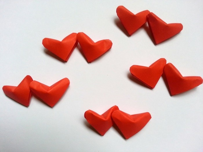 Berühmt Das Origami Herz in 100 einmaligen Bildern! - Archzine.net NW95
