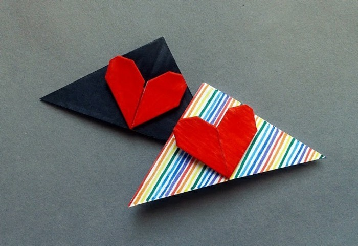 herzen-basteln-origami-inspiration-rote-farbe