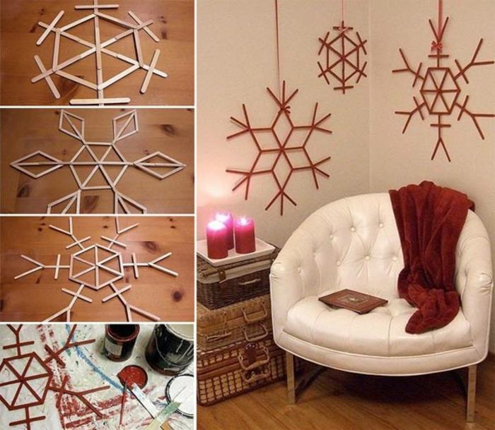 interessante-raumgestaltung-ideen-kreative-winterliche-dekoration-im-wohnzimmer