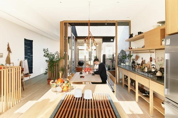 interessante- wohnzimmereinrichtungen-wunderschönes-modell-weiße-wände