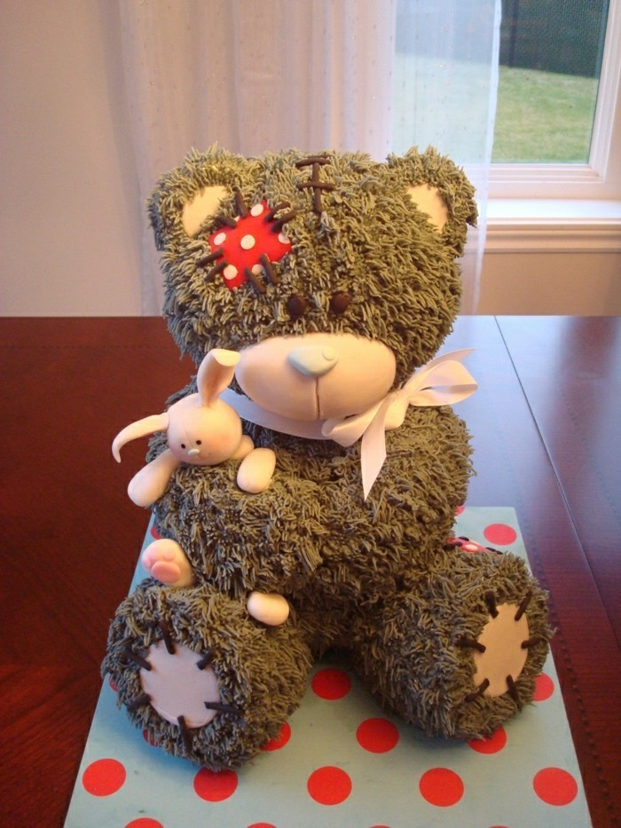 How To Make A Teddy Bear Cake Without A Pan