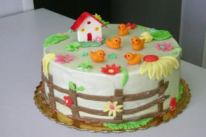 kindergeburtstagskuchen-buntes-modell-süße-torte