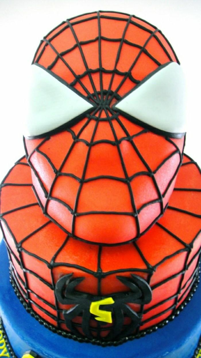 kindergeburtstagskuchen-spiderman-interessantes-bild