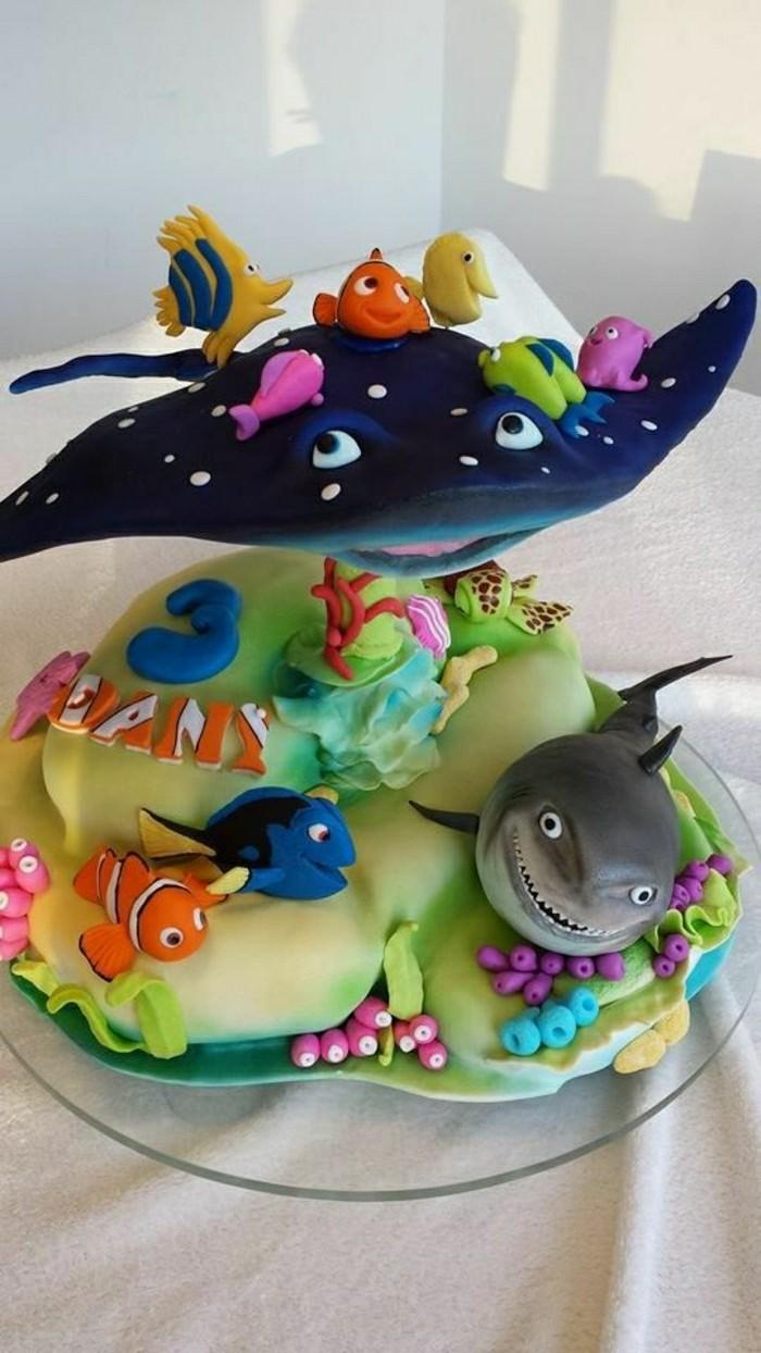 kindergeburtstagskuchen-unikale-schöne-gestaltung