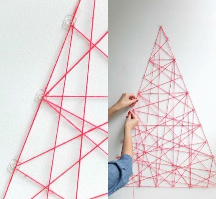 kreative-bastelideen-für-wand-eine-pyramide-selber-machen